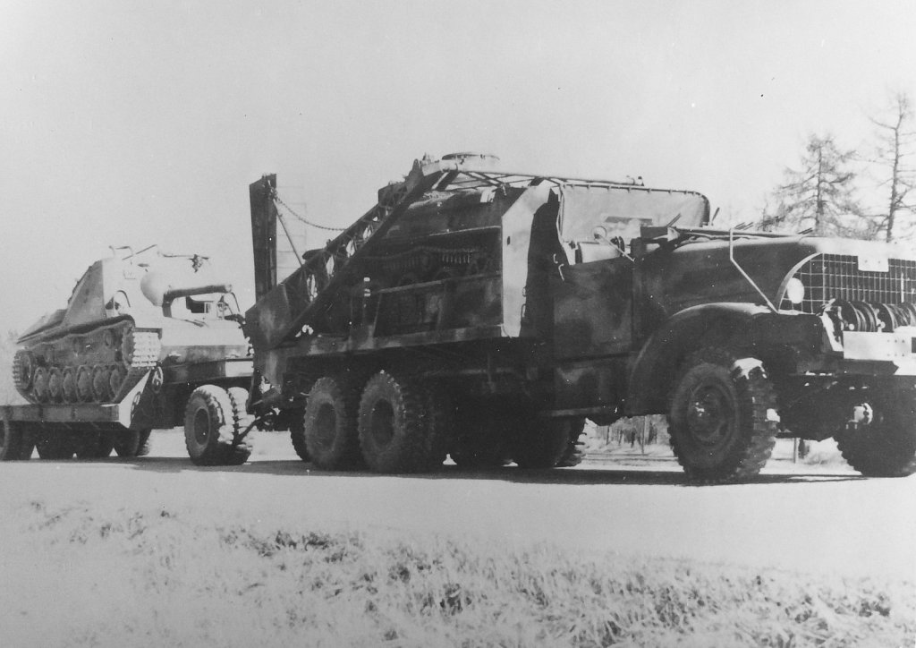 Landsvägstransport av pvkv m/43, 1953