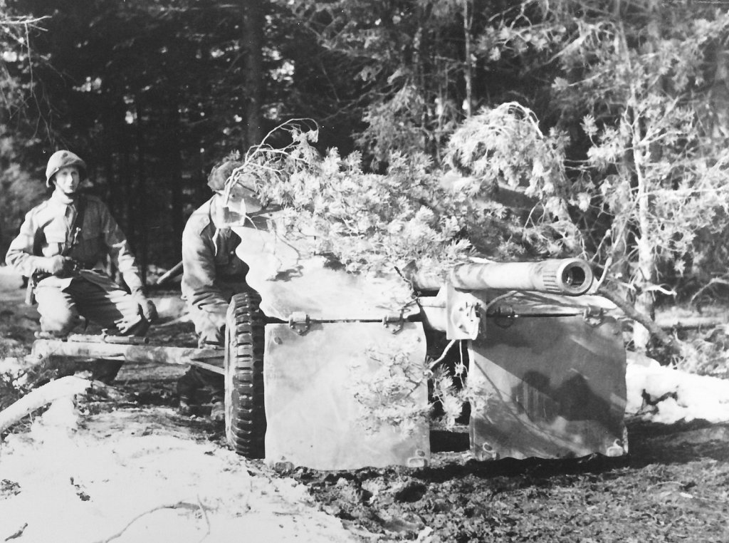 57 mm pvkan m/43, trakten av Riddarhyttan, mars 1952