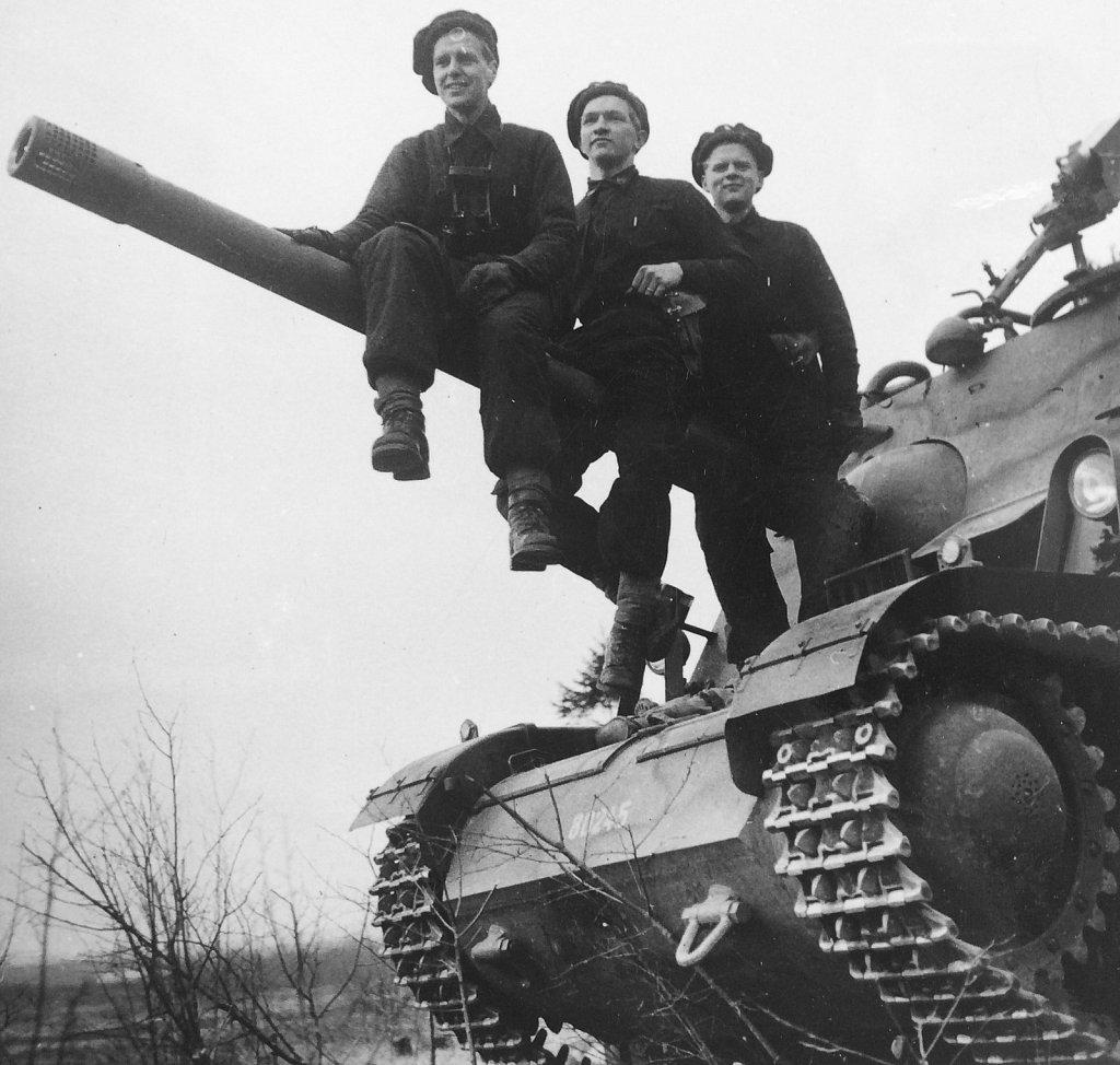 Militär verksamhet 1945-1960